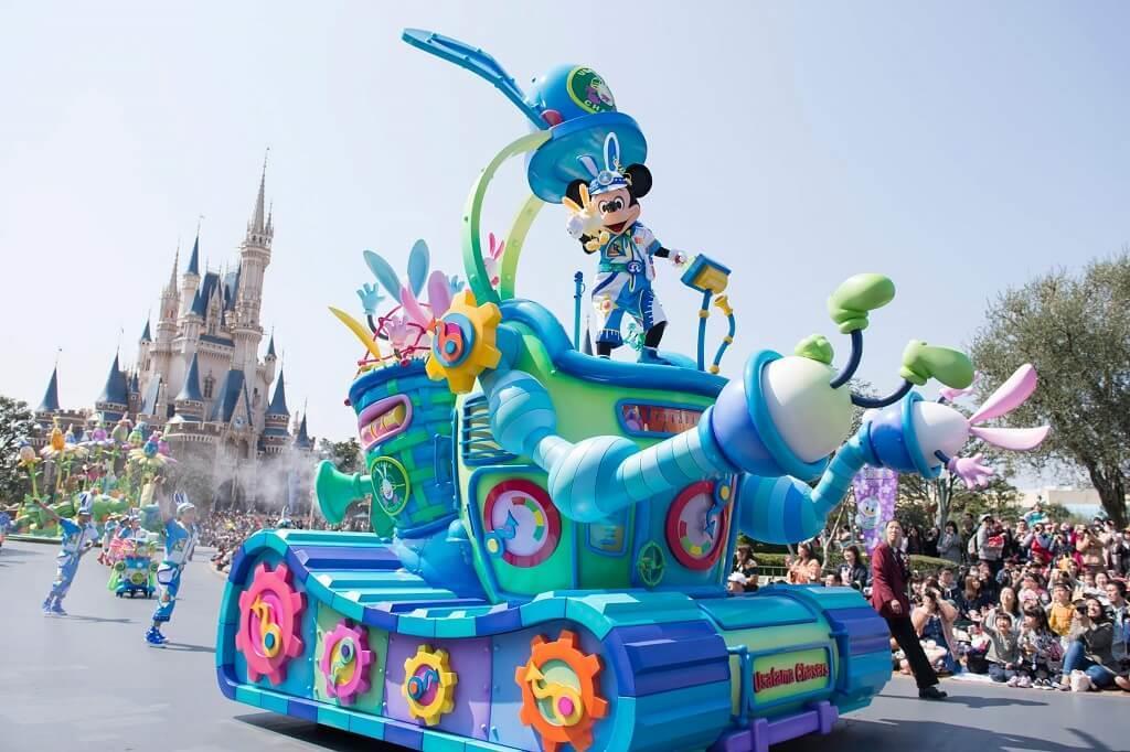 Công viên Disneyland ở Tokyo, Nhật Bản