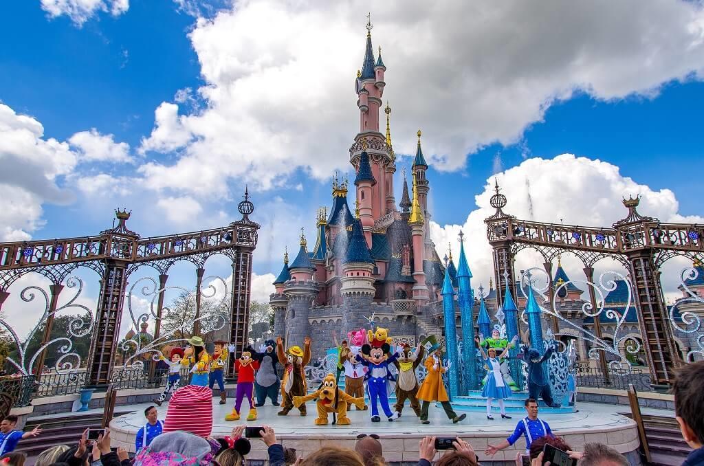 Công viên Disneyland ở Paris, Pháp